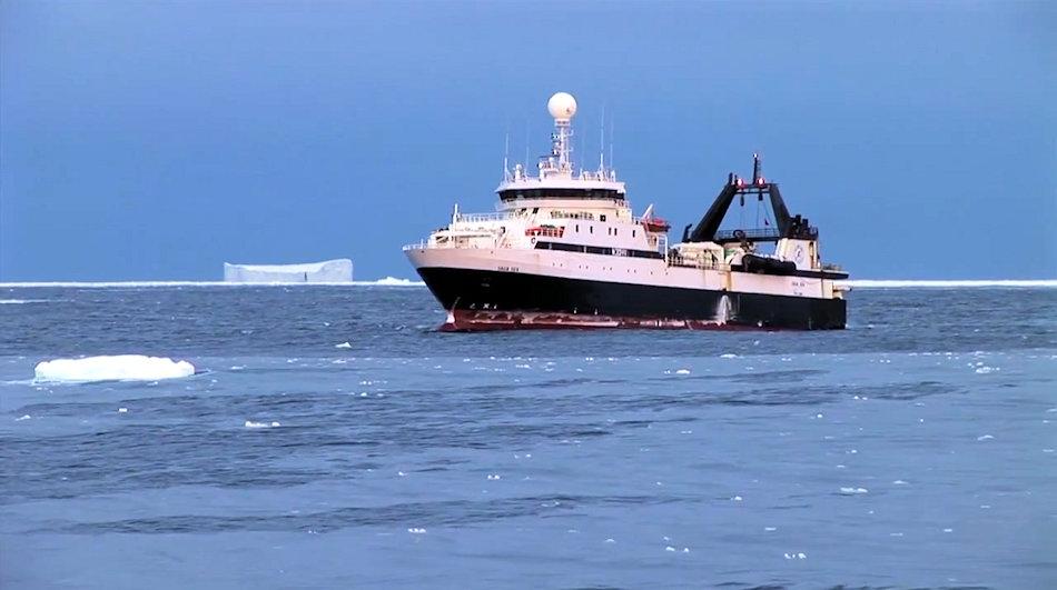 Die Antarktis hat schon immer Fischer und Wal- und Robbenfänger angezogen. Doch während die Jagd auf Meeressäuger nicht mehr lukrativ ist und kaum mehr betrieben wird, ist die Zahl der lizenzierten Fischereischiffe stark angestiegen. Bild: Ocean71 / Aker BioMarine