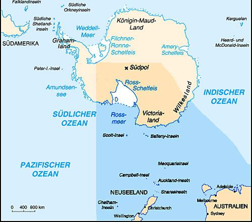 Ross-Sea-Karte