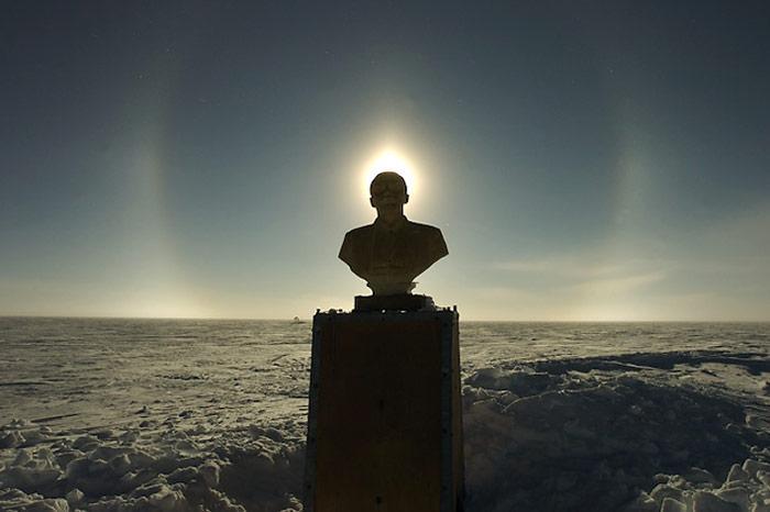 Lenin in der Sonne