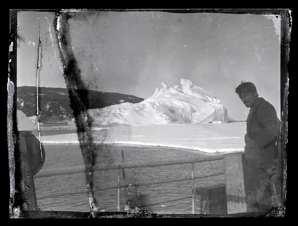 Alexander Stevens, Chefwissenschaftler auf Shackleton's Expedition 1914 - 1917, an Bord der «Aurora», Bild: Antarctic Heritage Trust www.nzaht.org
