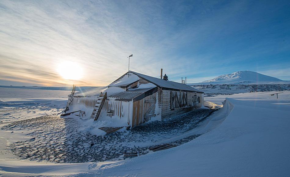 Kapitän Scotts Hütte bei Cape Evans. Foto: Alasdair Turner