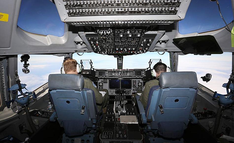 RAAF Piloten auf dem Weg zum zu Wilkins Flugfeld in der Ost-Antarktis Bild: David Said/RAAF