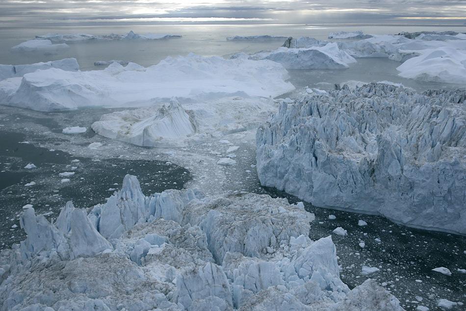 Eisberge bei Ilulisaat, Foto: Heiner Kubny
