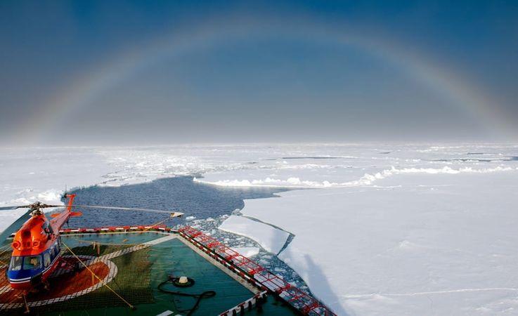 Die Nordostpassage ist eine der wichtigsten Verkehrsverbindungen Russlands. Mehr als 18 Millionen