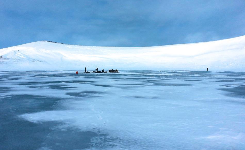Der Süsswassersee auf St. Paul Island enthielt viele Rückstände von Insekten und Wassertieren, die den Forschern halfen herauszufinden, was die Gründe für das Aussterben der lokalen Mammutpopulation gewesen waren. Bild: Matthew Woller