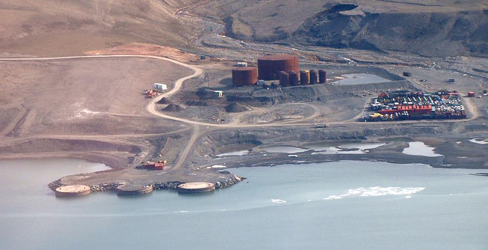 Noch nicht ganz klar ist, was mit der Hafenanlage im kanadischen Nanisivik in der Nordwestpassage geschehen soll.