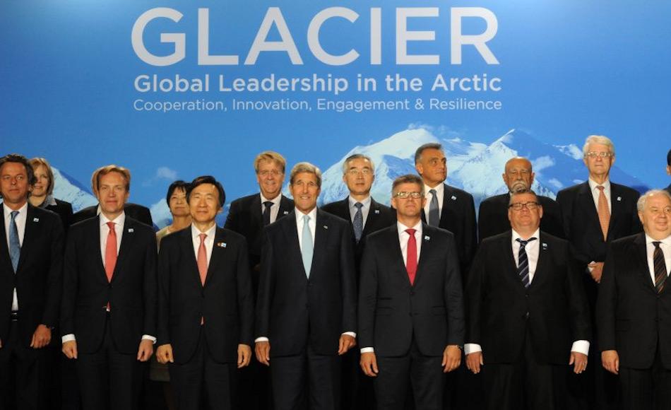 Der Arktisrat, das internationale Forum der Arktisanrainerstaaten, wurde gebildet, um die Probleme und Belange aller im Norden lebenden Völker und der arktischen Natur anzugehen. Mit den steigenden Problemen und Veränderungen muss der Rat seinen Einfluss verstärken. Bild: rcinet