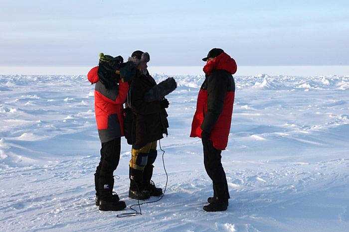Frederik Paulsen beim Interview mit Heiner Kubny und Simon Usteri.