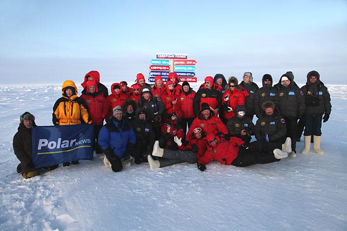 Gruppenbild der Delegation aus Moskau.